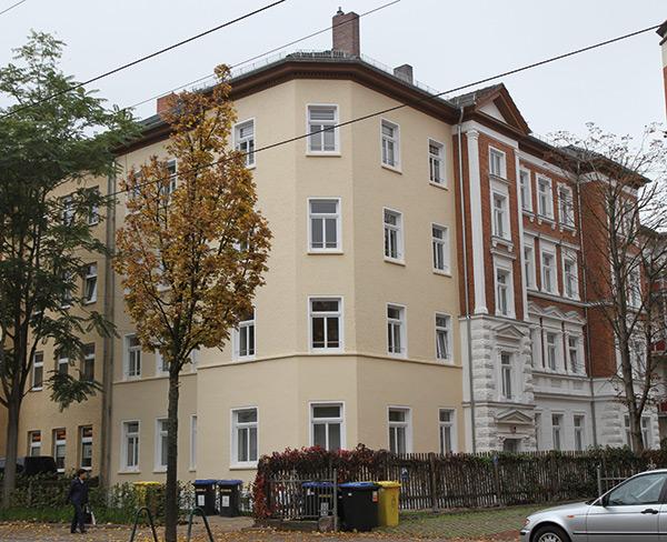 Haus Schillerstraße - Hausansicht